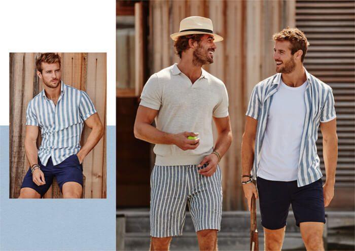Conheça as tendência desse verão e fique por dentro da moda masculina 2019. 6d052355857